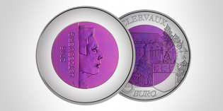 Latest Silver Niobium Castles of Luxembourg, Gold Cultural History Coins Released