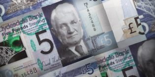 World Paper Money – Clydesdale Bank's £5 Polymer Banknote to Enter Full Circulation Sept. 15