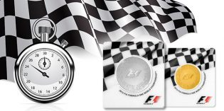 Rosland Capital Announces Official Formula 1 Gold and Silver Coin Collection