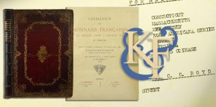 Kolbe & Fanning Numismatic Book Auction Certain to Turn Pages and Heads