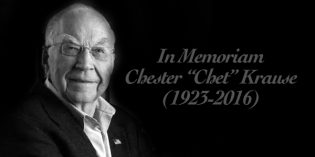 "In Memoriam:  Chester ""Chet"" Krause, 1923-2016"
