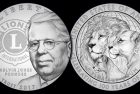 Lions Clubs International Centennial Silver Dollar Coin Designs Unveiled