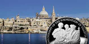 Bank of Malta Issues Silver Coin to Commemorate 450th Anniversary of Valletta