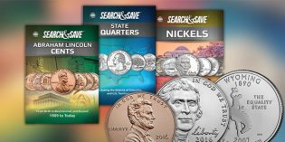 Whitman Releases Three New Search & Save Coin Books