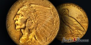 Gem 1914 Quarter Eagle Featured in ANA World's Fair of Money Rarities Night Auction
