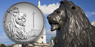 Royal Mint Celebrates Trafalgar Square with 2016 UK £100 Coin