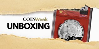 CoinWeek Unboxing: 2016 China Silver 10 Yuan Panda in NGC Red Core Holder – 4K Video