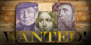 World Paper Money – The Riksbank Wants Selma, Jenny and Gustav!