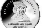 Germany 2016 175 Years of Song of Germany 20 Euro Silver Coin