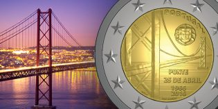 Portugal to Issue 50 Years of the April 25 Bridge €2 Commemorative Coin