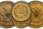 10 Rare US Gold Coins with Surprising Low/High CAC Populations