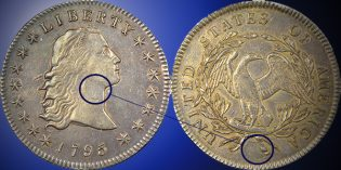 Newly Discovered, Unique Dual-Plugged 1795 Silver Dollar Offered by Heritage Auctions