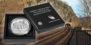 Harpers Ferry Five Ounce Silver Uncirculated Coin Avail. July 14