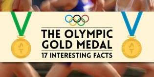 Infographic: 17 Very Interesting Facts About Olympic Gold Medals