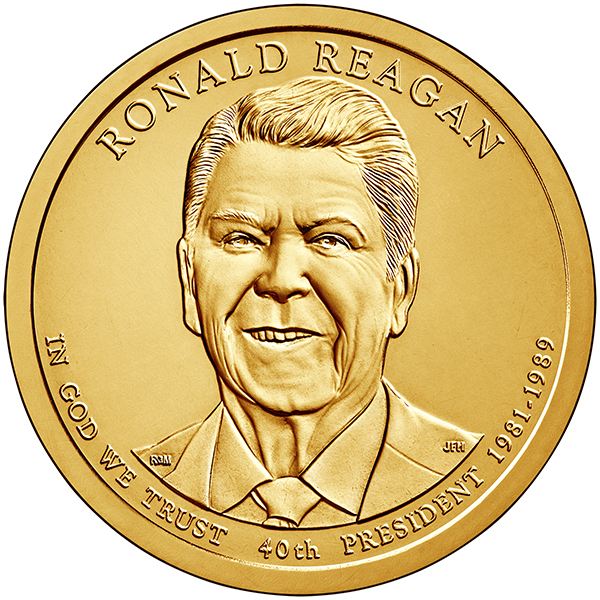 coin history of us presidents