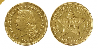 Classic US Coins – Gold Stella $4 Coin Goes to Auction