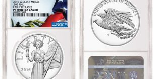 NGC Special Label for 2016 American Liberty Silver Medal
