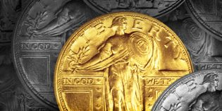 U.S. Mint: September Sale Date for Standing Liberty Gold Coins