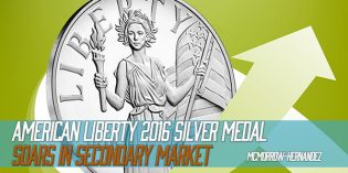 American Liberty 2016 Silver Medal Soars in Secondary Market
