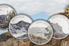 Royal Mint Captures 'Watercolor' Coin Portraits of British Natural Landmarks
