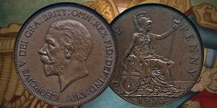 English Bidder Sets $193,875 World Record for 1933 George V Cent