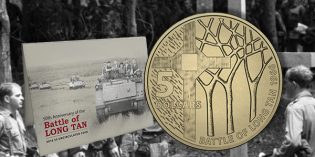 Australian Commemorative Coin Marks 50th Anniversary of Battle of Long Tan