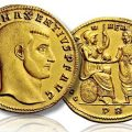 Gold medallion of Maxentius