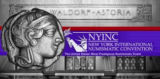 New York International Numismatic Convention Announces Room Rates at Waldorf Astoria