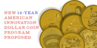 American Innovation $1 Coin Program Reintroduced to Congress