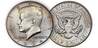 Rare 1964 SMS Kennedy Half Dollar Sells for $47K