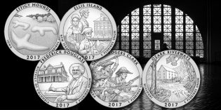 U.S. Mint Announces 2017 America the Beautiful Quarters Program Coin Designs