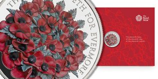 The Royal Mint Reveals Design for Remembrance Day Alderney £5 Coin