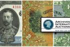 Archives International Auctions Sale 35 – Chinese, Asian & World Banknotes and Scripophily