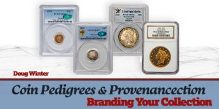 Coin Pedigrees & Provenance: Branding Your Collection