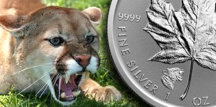 The 2017 Cougar Privy Canadian Silver Maple Leaf Reverse Proof Coin: Now at JM Bullion