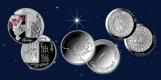 Latvian Coins Gain Recognition at Coin Constellation International Contest