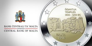 Malta Issues 2 Euro Commemorative Coin – Ġgantija Temples