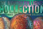 Prices Realized for Legend Auctions Toned Morgan Dollar Northern Lights Collection