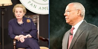 Smithsonian Museum Honors Madeleine Albright and Colin Powell