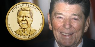 Ronald Reagan Coin & Chronicles Set Avail. October 11
