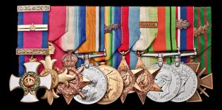 Spink Auctions: One Man, One Hand, and a Hell of a Medal Group
