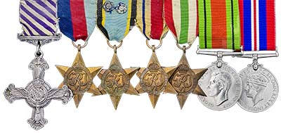 Queen's Gallantry Medals. Images courtesy Spink Auctions