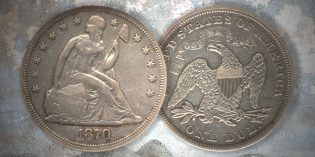 1870-S Dollar Headlines Heritage New York Coin Auction