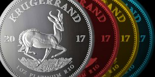 South Africa Issues Silver, Platinum Krugerrands for 50th Anniversary