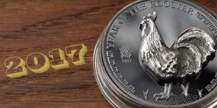 Year of the Rooster 2017 Gold & Silver Coins from Coin Invest Trust