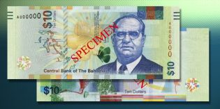 World Currency – Bahamas Launches New Banknote Family with $10 Bill