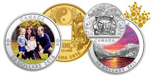Royal Canadian Mint: New 5 Kilo Silver Coin, Other Collectibles for October
