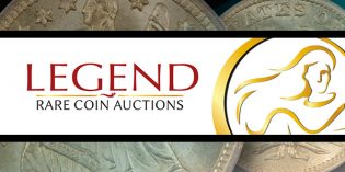 "Legend's Regency Auction 18 Smashes Records: Toned Morgan Dollars Bring ""Beyond Moon Money"""