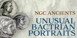 NGC Ancient Coins: Unusual Bactrian Portraits