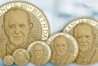 Gold Coins Celebrate Pope Francis' 80th Birthday